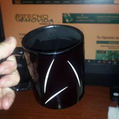 """Buenos dias! el café de hoy..en la taza de la """"StarFleet""""..."""