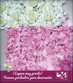 tapetes y flores para decoración en Medellín