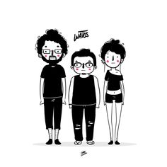 WATO 2 / characters by Chabe Escalante, via Behance