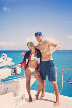 Steph And Ayesha Curry   - How Your Favorite Famous Couples Celebrated The 4th Of July