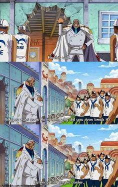One Piece. Garp's way. Haha OMG Gildarts from Fairy Tail did the same thing xD