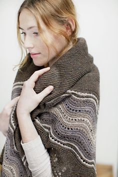 Quill Shetland-Style Hap Shawl, Jared Flood (aka Brooklyn Tweed)