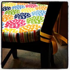 diy chair cushion