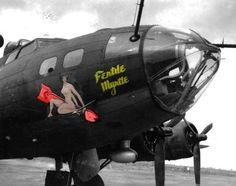 Nose Art - Photos of bombers Ww2 Aircraft, Military Aircraft, Pin Up, Art Through The Ages, Old Planes, Aircraft Painting, B 17, Airplane Art, Nose Art