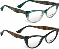 Three new frames in the Rye&Lye collection from Italy feature beautiful exotic woods and chunky, cat-eye shape. Click here for closeups...