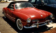 Karmann Ghia -- Had a little red 1964 Ghia -- still so sorry I sold it when we had our firstborn!
