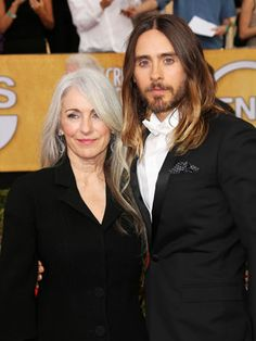My other husband and mother in law! Jared Leto's A Mama's Boy — In The Best Way!  #Refinery29