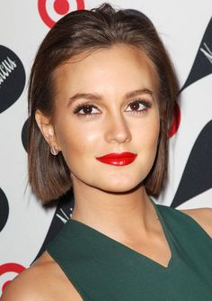 Leighton Meester short cut : suit her so well.