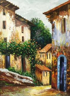 Simple Oil Painting, Oil Painting For Beginners, Time Painting, African Art Paintings, Small Paintings, Watercolor Pictures, Watercolor Paintings, Still Life Art, Art And Architecture