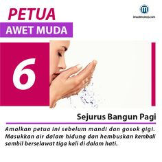 10 Petua Awet Muda #sebarkanmanfaat #Imuslimshop #PhotoViral #PetuaawetMuda Islamic Images, Islamic Messages, Islamic Pictures, Pray Quotes, Quran Quotes Love, Quotes To Live By, Hijrah Islam, Doa Islam, Reminder Quotes