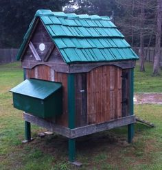 Picture of Chicken Coop from a Playhouse