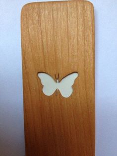 Wood Bookmarl: Butterfly design via WoodlandExpressions