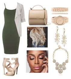 """""""light camo"""" by polysetter-862 ❤ liked on Polyvore featuring Miss Selfridge, Wallis, Givenchy, ALDO and Anne Klein"""