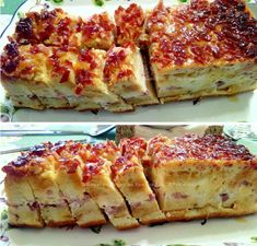 Tapas, Lasagna, French Toast, Cheese, Breakfast, Ethnic Recipes, Quiches, 3, Food