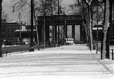 Berlin: Brandenburger Tor von Charlottenburger Chaussee (Maerz 1937)