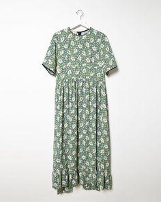 MARNI Floral Crepe Dress