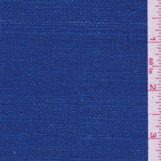 Cobalt Blue Silk Suiting