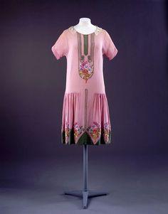 Day dress (?), 1920's