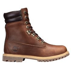 Shop Timberland for women's double-collar waterproof boots: No worries about getting stuck in the rain.
