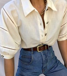 So many lovely finds hitting the site now ❤️ White Off Shoulder, Fashion Looks, Blazer, My Style, Blouse, Jackets, Vintage, Instagram, Tops