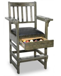 Atlantis King Chair http://www.BilliardFactory.com/Atlantis-King-Chair
