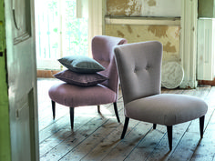 Romo Fabrics, Natural Linen, Fabric Design, Upholstery, Dining Chairs, Contemporary, Furniture, Home Decor, Dining Chair