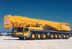 The Liebherr LTM 11200-9.1 mobile crane sports a 100-meter telescopic boom -- the longest in the world.