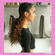 Two Braids Hairstyle Black Women, Two Braid Hairstyles, Braids For Black Hair, Trend News, Twist Braids, What's Trending, Cornrows, Hair Inspo, Hair And Nails
