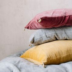 Velvet cushion. Nomads Collection. www.balakata.com