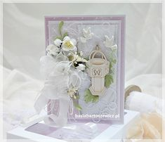 www.basiabartoszewicz.pl Christening, New Baby Products, Table Decorations, Scrapbooking, Home Decor, Decoration Home, Scrapbook, Interior Design, Scrapbooks