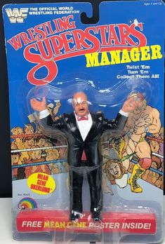 Wwf Superstars, Wrestling Superstars, Childhood Toys, Childhood Memories, Wwf Toys, Vintage Toys 80s, Wrestling Posters, Weird Toys