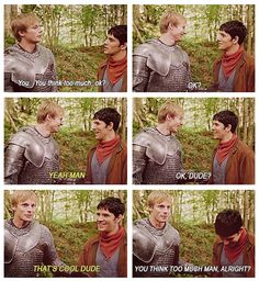 Possibly the best Merlin blooper ever