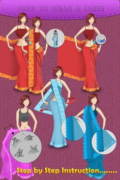 ways of how to wear saree