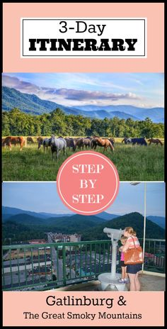 Family fun abounds in Gatlinburg and The Great Smoky Mountains National Park…