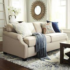Alton Scoop Arm Sleeper Sofa - Ecru Pier 1 $1300