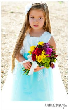 And The Flower Girl Wore......:)