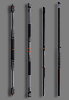 Deathstroke's Energy Staff from Batman: Arkham Origins
