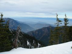 The view from the summit of Hurricane Hill. Photo by Eric Jain.
