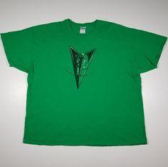 Arrow DC Comics Mens 3XL Green T-Shirt XXXL Short Sleeve Graphic Tee