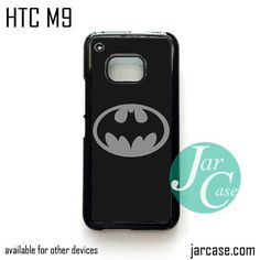 Batman Old Logo in the Dark - Z Phone Case for HTC One M9 case and other HTC Devices