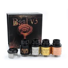 Baal V3 Rda Atomizers Clone Baal 3.0 Vapor Airflow Control With Peek Insulators Fits 510 E Cigarette Travel Perfume Atomiser Travel Perfume Atomizer From Daryochina, $7.42| Dhgate.Com