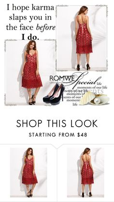 """Romwe 4"" by amelaa-16 ❤ liked on Polyvore featuring romwe"