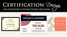 6 Steps To Effective Certificate Design