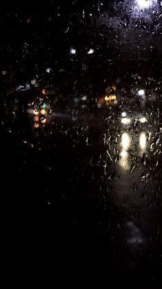 Night Rain, Rain Days, Rainy Night, Rainy Mood, Rainy Weather, Rain Wallpapers, I Love Rain, Rain Photography, Night Aesthetic