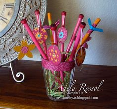 dangling pencil toppers