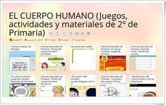 11 juegos, actividades y materiales sobre EL CUERPO HUMANO en 2º de Primaria Natural, Science Area, Human Body Activities, Nebulas, Teaching Resources, Body Parts, Gadgets, Learning, Nature