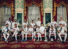 Fencers from ITA, GBR, USA and FRA competing in the Beazley International Trophy at Mansion House, London
