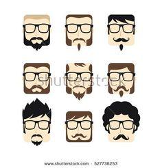 man hipster gentleman mustache guy