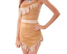 Como fazer fantasia de Pocahontas. Pocahontas foi uma bela princesa índia que pertencia à tribo Powhatan. A sua vida deu origem a muitas lendas e quase toda a gente conhece o seu nome. O filme da disney tornou a personagem ainda mais p...
