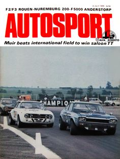 AUTOSPORT-magazine-2-July-1970-featuring-Alfa-Romeo 1750 gta Alfa Romeo 1750, Alfa Romeo Gtv, Alfa Romeo Giulia, Gta, Classic Cars, Magazine, Vehicles, Vintage Classic Cars, Magazines